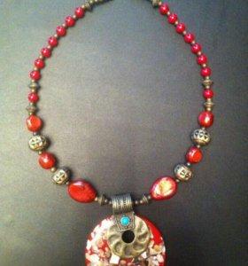 Украшение колье ожерелье бижутерия египет