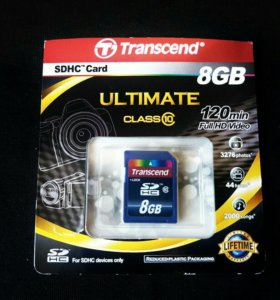 Transcend Sdhc 8gb ultimate