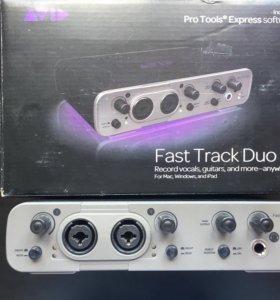 Звуковая карта Avid Fast Track duo