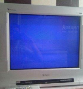 Телевизор Rolsen c DVD