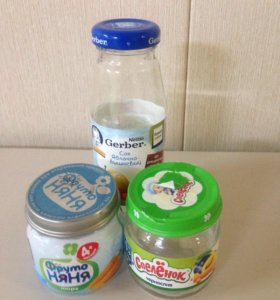 Баночки и бутылочки