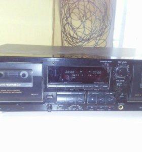 Двухкассетная дека Sony tc-wr565
