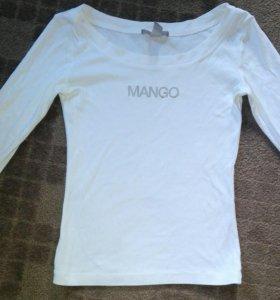 кофточка белая mango