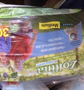 Взрослые подгузники. Упаковка 30 штук.