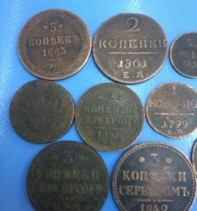 Монеты медь