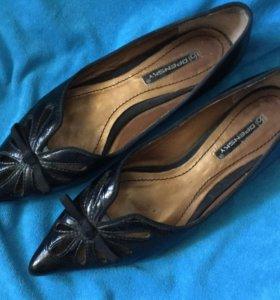 Туфли/лодочки/балетки. Нат.кожа, 36,5 размер