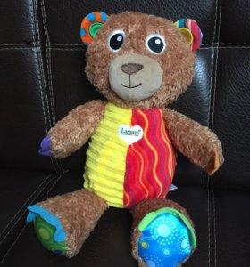 Развивающая игрушка мягкая мишка медведь