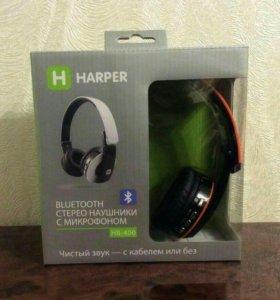 Новве наушники блютуз Harper HB-400