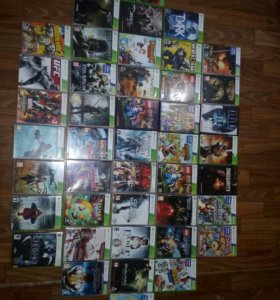 40 дисков на прошитый XBOX 360
