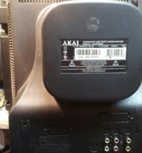 Цветной телевизор Акай 14CTN36BC