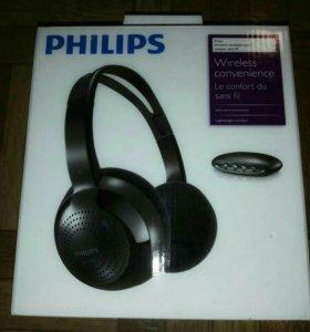 Новые беспроводные IR наушники Philips