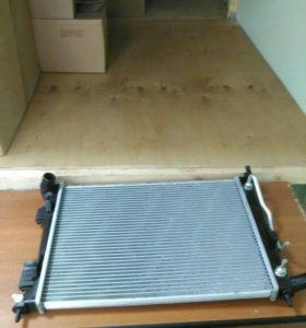 радиатор охлаждения АКПП Хенда Соларис