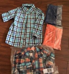 Рубашка и брюки для мальчика Oshkosh рр 5Т новые
