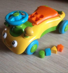 Машинка - каталка - ходунок 2в1 ELC