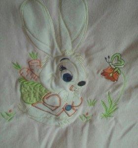 Одеялко для малышки на весну/осень