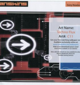 Наклейка для Sony PRS-300