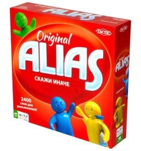 "Игра карточная настольная ""Алиас"""