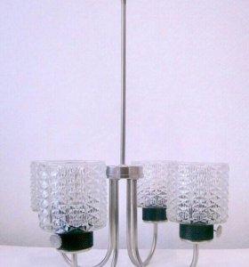 Люстра 4 лампы