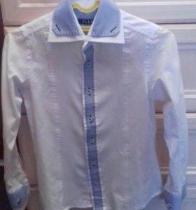 Рубашка для мальчика 122-128р.