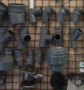 Трубы и фитинги канализационные из полипропилена
