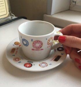 Кофейный набор чашек для эспрессо,новый