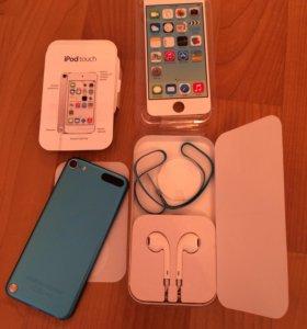 Apple iPod touch 32Gb (синий)