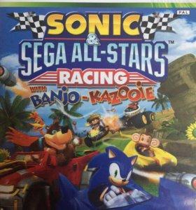 Игра Sonic & Sega All-Stars Racing Xbox 360