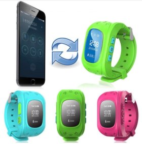 Часы с GPS трекером smart baby watch