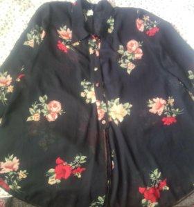 Блуза туника шифон 68