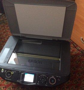 Принтер фотопринтер мфу Epson stylus photo rx610
