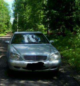 Продаю на запчасти Mercedes s500 w220