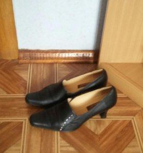 Туфли, натуральная кожа, 37 размер