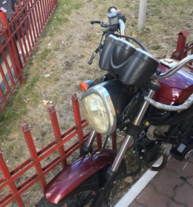 Мотоцикл-мопед Stingray 110 куб.