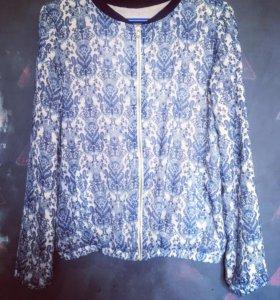 ❤️Бомбер/куртка/блузка из шифона р-р s-m