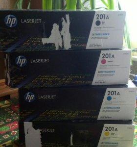 Картриджи для цветных принтеров HP LaserJet Pro