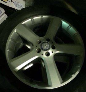 Резина и диски на мерседес GL (Mercedes benc GL