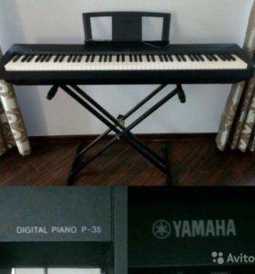 Цифровое фортепиано YAMAHA P-35