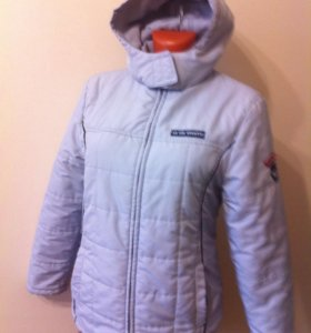 Куртка утепленная спортивного силуэта. Р.46