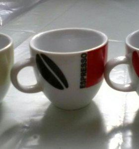 Чашки кофейные, 3 шт