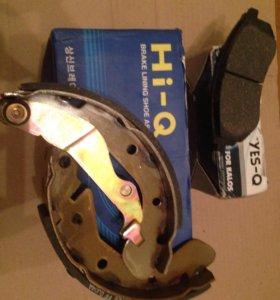 Тормозные колодки для Chevrolet Aveo 2