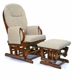 Кресло-качалка с подставкой для ног Abc design
