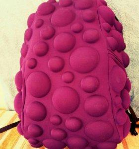 Портфель школьный, пупырчатый, фиолетовый