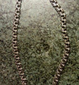 Серебряная цепочка(мужская)