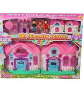 Кукольный дом «My Happy Family»