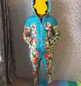 Штаны и куртка костюм на весну