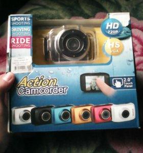 Автомобильный видео регистратор-экшн камера