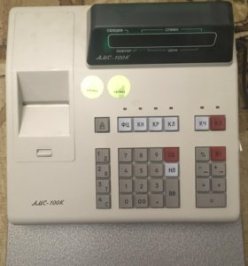 Кассовый аппарат АМС 100К б/у