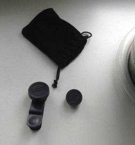 Объектив на камеру