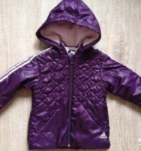 Куртка Adidas на девочку 1,5-2 года(18-24m) в о/с