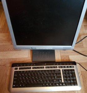 Монитор и клавиатура!!!